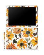 Yellow Sunflower Galaxy Book 12in Skin