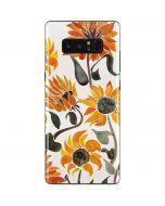 Yellow Sunflower Galaxy Note 8 Skin