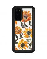 Yellow Sunflower Galaxy S20 Waterproof Case
