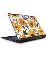Yellow Sunflower GP62X Leopard Gaming Laptop Skin