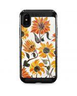 Yellow Sunflower iPhone X Cargo Case