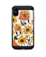 Yellow Sunflower iPhone XS Max Cargo Case