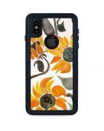 Yellow Sunflower iPhone XS Waterproof Case