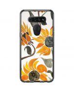 Yellow Sunflower LG K51/Q51 Clear Case