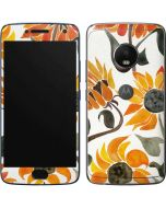 Yellow Sunflower Moto G5 Plus Skin