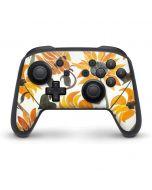 Yellow Sunflower Nintendo Switch Pro Controller Skin