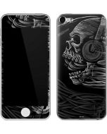 Yin Yang Music Skulls Apple iPod Skin