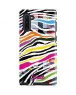 Zebra Pattern Galaxy Note 10 Pro Case