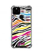 Zebra Pattern Google Pixel 5 Clear Case