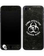 Zombie Apocalypse Survival Guide iPhone 8 Skin