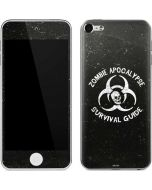 Zombie Apocalypse Survival Guide Apple iPod Skin