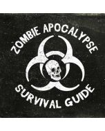 Zombie Apocalypse Survival Guide iPhone X Skin