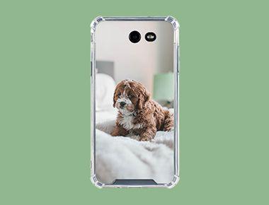 Custom Galaxy J7 (2017) Clear Case