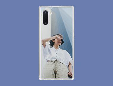 Custom Galaxy Note 10 Clear Case