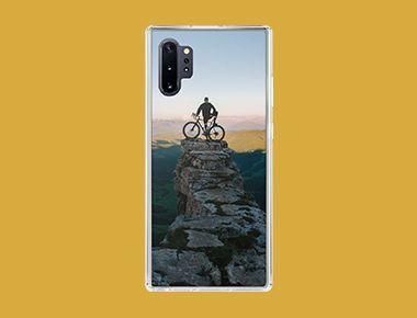 Custom Galaxy Note 10+ Clear Case