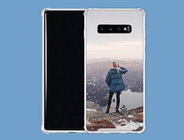 Custom Galaxy S10+ Clear Case