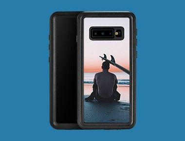 Custom Galaxy S10+ Waterproof Case