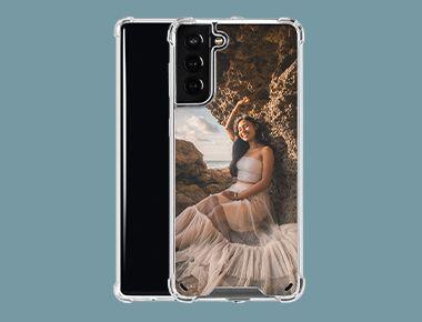 Custom Galaxy S21 Plus 5G Clear Case