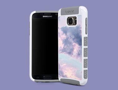 Custom Galaxy S7 Edge White Cargo Case