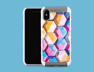 Custom iPhone X White Cargo Case