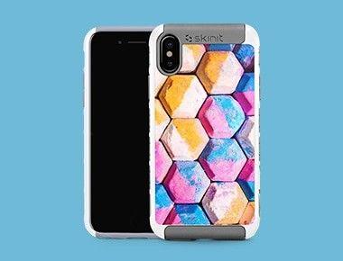 Custom iPhone X/XS White Cargo Case