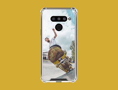 Custom LG V50 ThinQ Clear Case