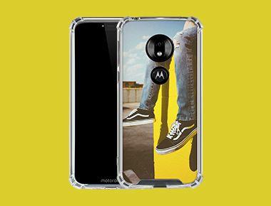 Custom Moto G7 Power Clear Case