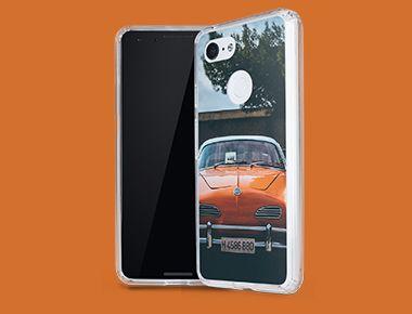 Custom Google Pixel 3 XL Clear Case