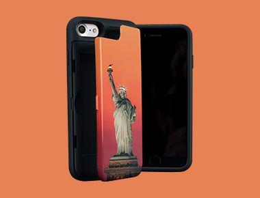 Custom iPhone SE Wallet Case