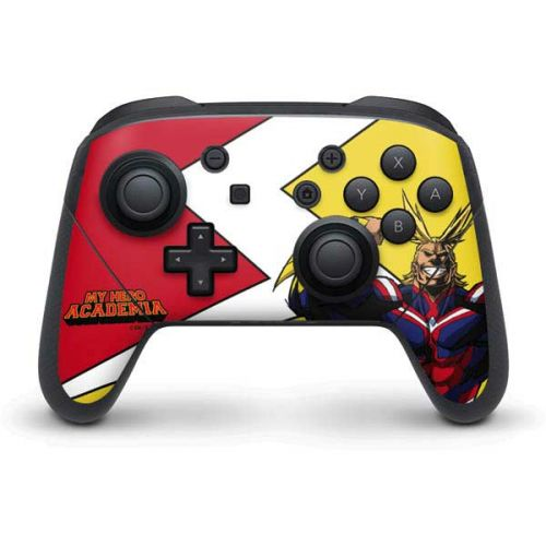 All Might Switch Pro Controller Skin Anime