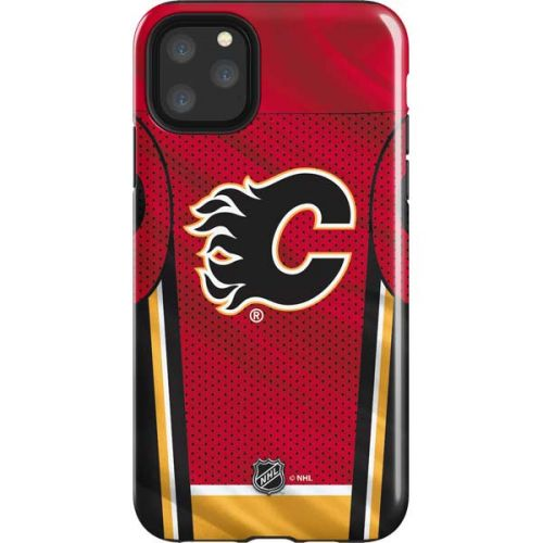 Calgary Flames Home Jersey Iphone 11 Pro Max Impact Case Nhl