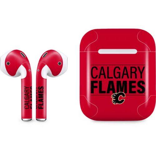 Calgary Flames Lineup Airpods Skin Nhl