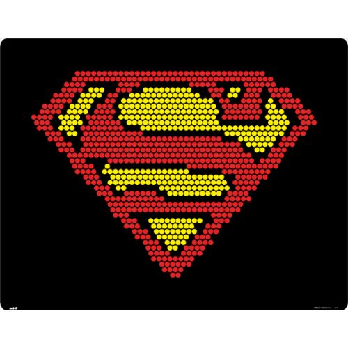 Superman Logo Pixels Amazon Echo Skin