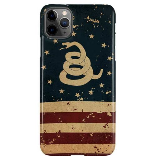 Dont Tread on Me American Flag iphone case