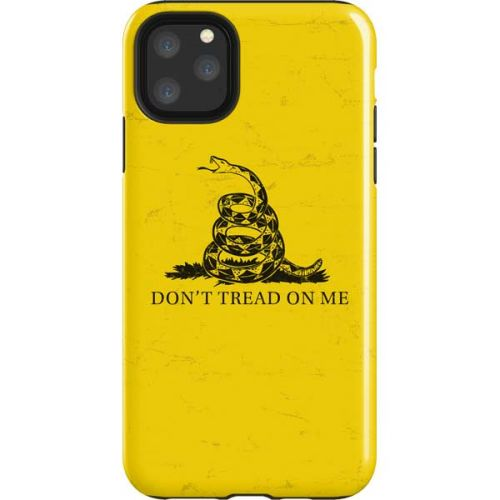 don t tread on me iphone case