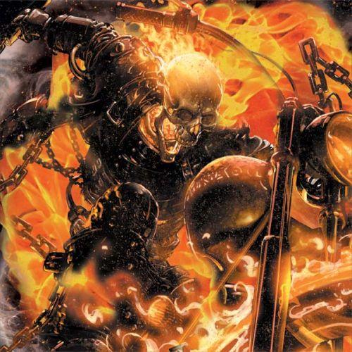 Ghost Rider Spirit of Vengeance 3DS XL 2015 Skin
