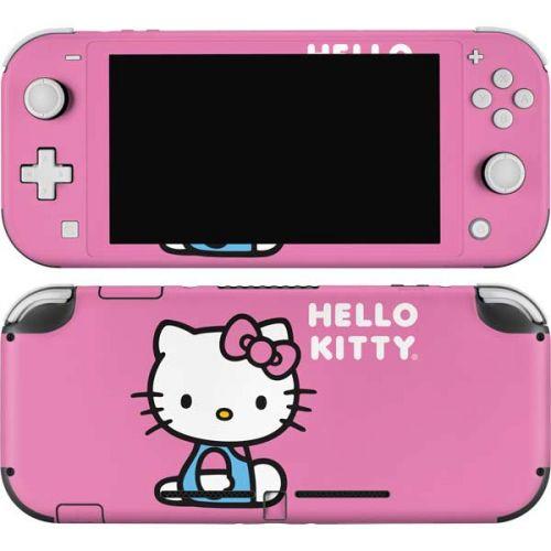 Hello Kitty Sitting Pink Switch Lite Skin Sanrio
