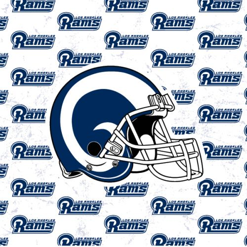 size 40 0670f c83e2 Los Angeles Rams White Logo Blast Naida CI Q70 Kit Skin