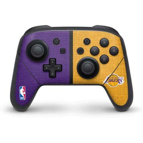 Los Angeles Lakers Canvas Switch Pro Controller Skin Nba