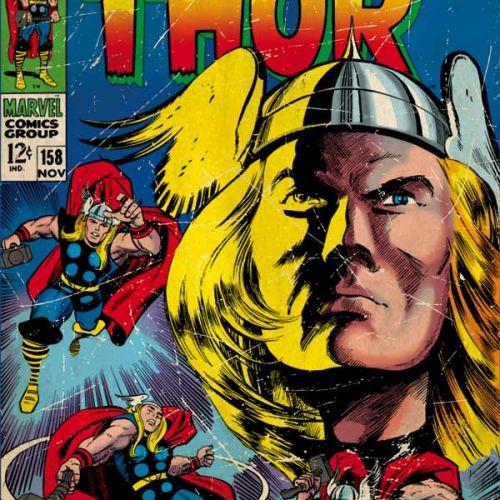 Marvel Comics Thor Xbox One Console Skin