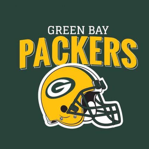 Green Bay Packers Helmet V10 Skin Nfl