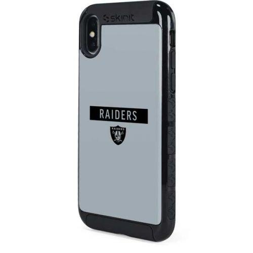Las Vegas Raiders Silver Performance Series Iphone Xs Max Cargo Case Nfl