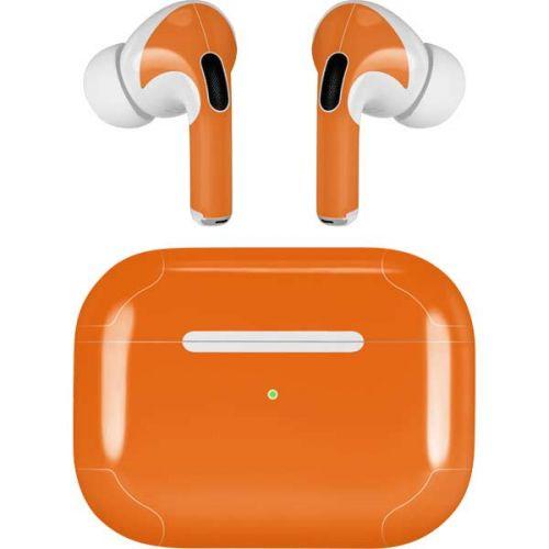 Orange Airpods Pro Skin