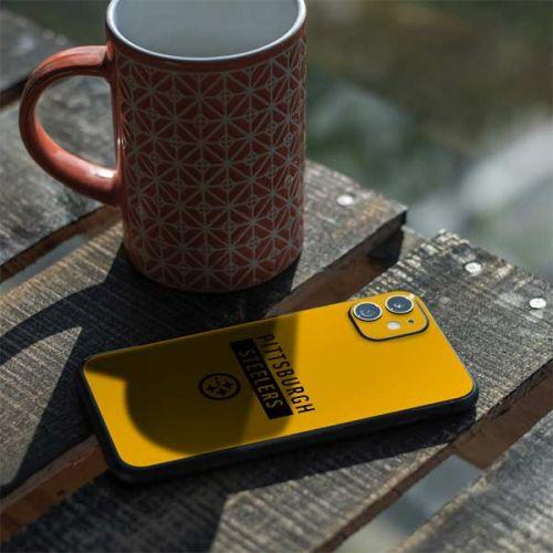 Pittsburgh Steelers Yellow Performance Series Iphone 11 Skin