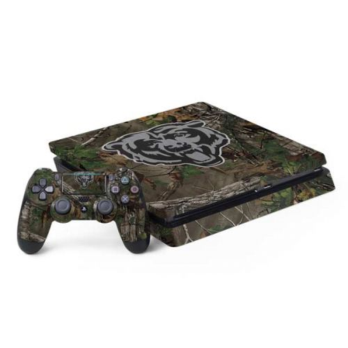 official photos ddb28 6018c Chicago Bears Realtree Xtra Green Camo PS4 Slim Bundle Skin