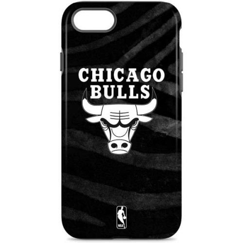 Chicago Bulls Black Animal Print iPhone 7 Pro Case