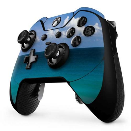 Clear Blue Water Along Beach at Cancun Xbox One Elite Controller Skin