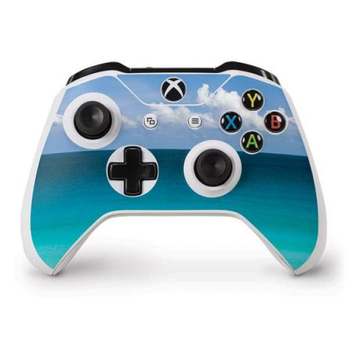 Clear Blue Water Along Beach at Cancun Xbox One S Controller Skin