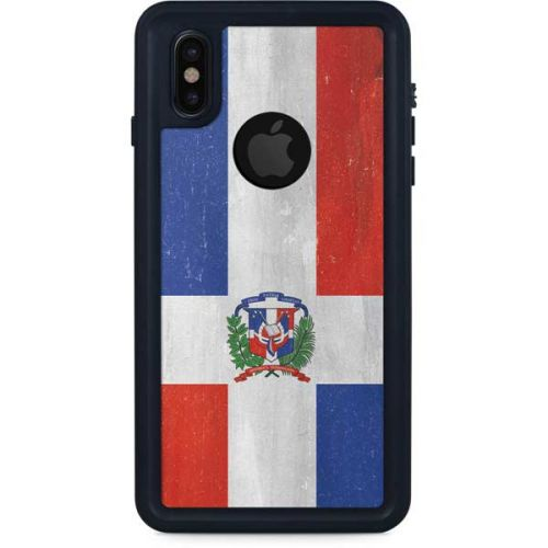 Dominican Republic Flag Drop iphone case