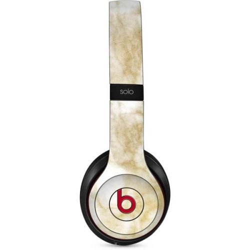 Gold And White Marble Beats Solo 2 Wireless Skin